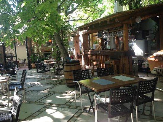 restaurante asador los jardines de lorca terraza