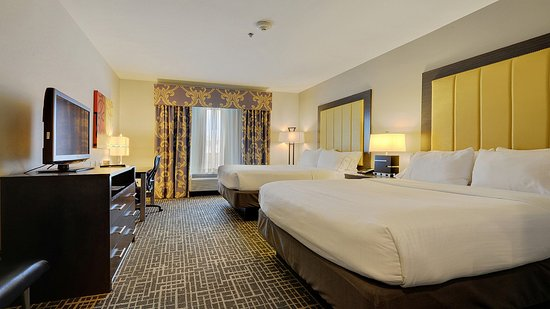 Holiday Inn Express & Suites Gonzales: Two Queens