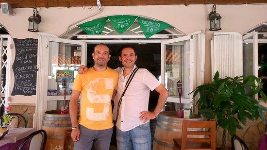 Turre, Spain: Desde Malaga recibimos a nuestros amigos