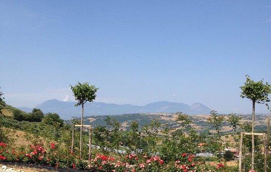 Paduli, Italia: Vista panoramica della DORMIENTE DEL SANNIO