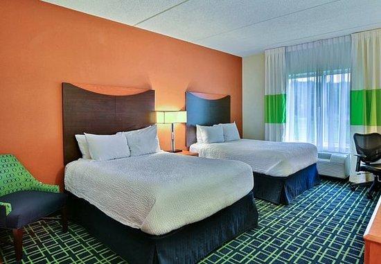 Huntingdon, Pensilvania: Double/Double Guest Room