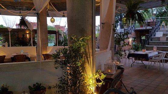 Guridi terraza: Restaurante
