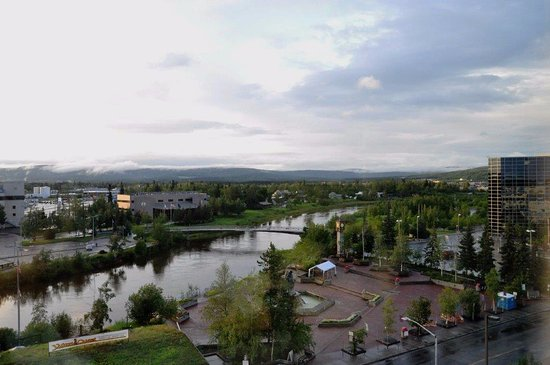 SpringHill Suites Fairbanks: our view from the room