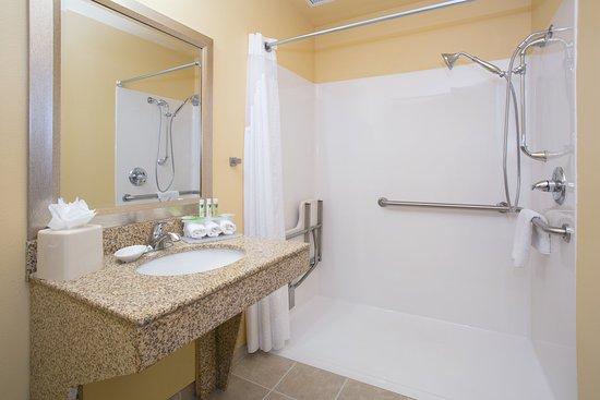 Thornton, CO: ADA Bathroom with Roll-in shower