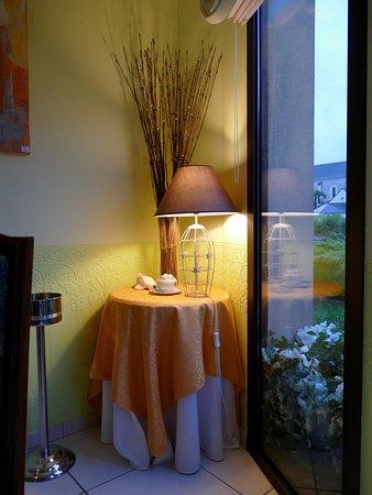 La Breille-les-Pins, Frankreich: Tout est soigné, même le décor.
