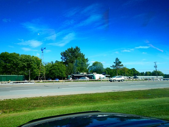 Orillia, Canada: A view from the other side of the high way