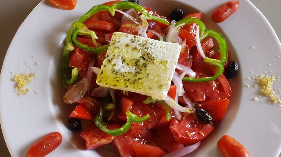 Mistral Restaurant and Bar: Greek salad with feta cheese