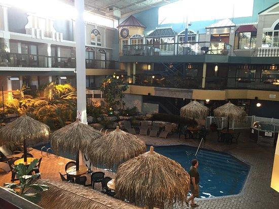 Piscine picture of hotel quebec inn quebec city for Hotels quebec