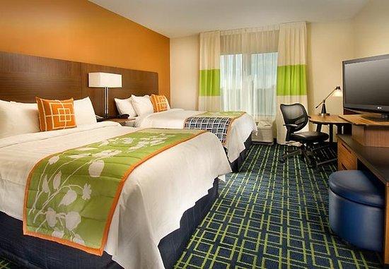 Fairfield Inn & Suites Baltimore BWI Airport: Queen/Queen Guest Room