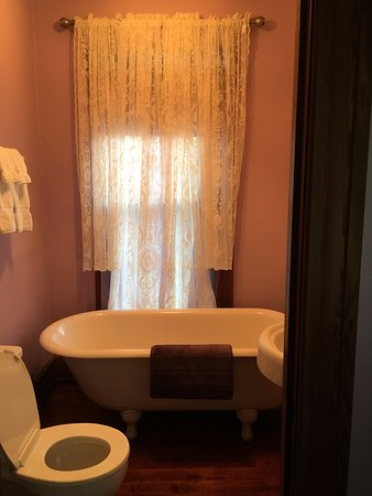 Lake Helen, Floride : Lace in the bathroom