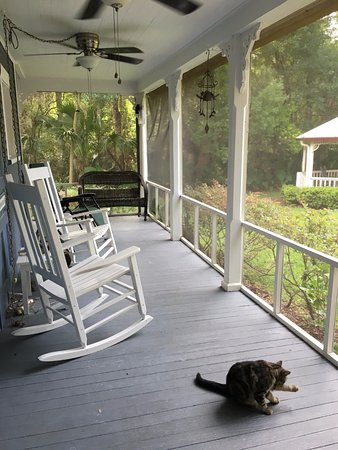 Lake Helen, FL: Back porch