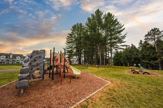 Brownsville, VT: Playground fun for the kids to enjoy