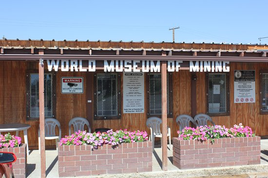 Butte, MT: Entrance to the Museum