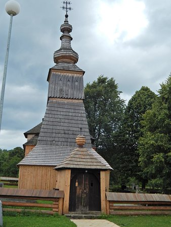 The wooden greek-catholic church of St. Michel
