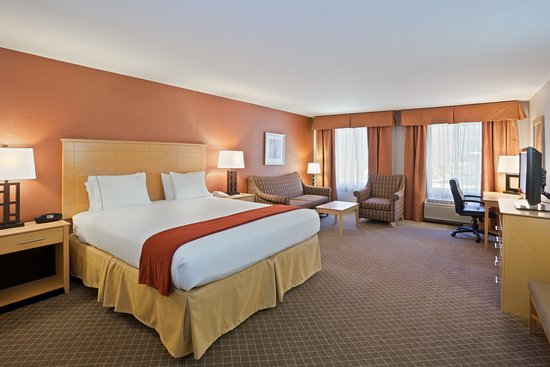 Holiday Inn Express Stockton Southeast: Deluxe Room