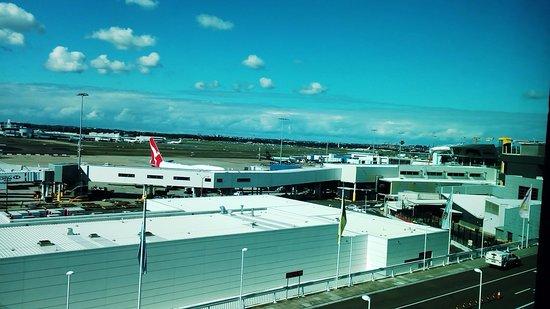 Mascot, Australia: View to the right.