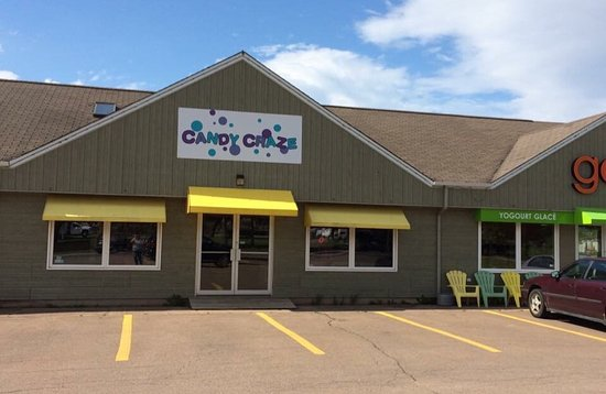 Candy Craze in Shediac has tons of yummy candy from all over the world as well as a selection of