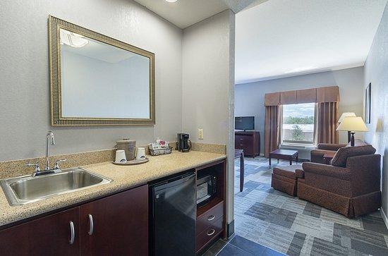 Hampton Inn & Suites Indianapolis/Brownsburg : king suite