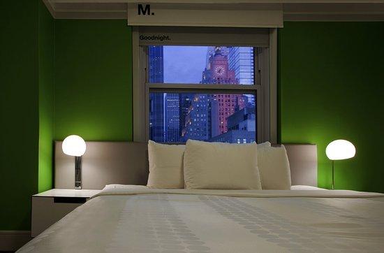 Row NYC Hotel : Green Room Detail
