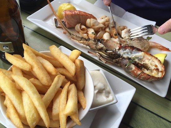 Bangalow, Australië: Mixed seafood plate