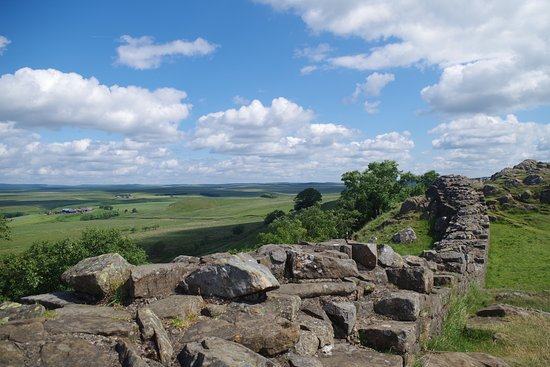 Greenhead, UK: A section of Hadrian's Wall At Walltown