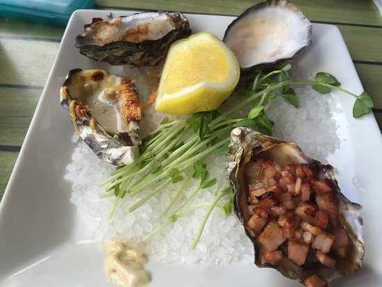 Bangalow, Australië: Mixed oysters