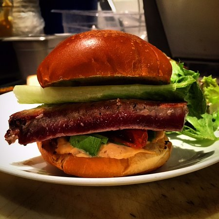 Stone Ridge, NY: Tuna burger