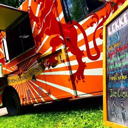 Stone Ridge, Нью-Йорк: lekker food truck