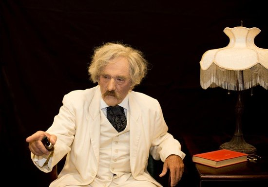 """A Memorable Evening in Bermuda with Mark Twain: ''Grandfather's Old Ram"""""""