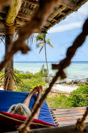 Matemwe Lodge, Asilia Africa: Relax in the hammock on your patio