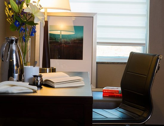 Marshfield, WI: Desk Space With Ergonomic Chair