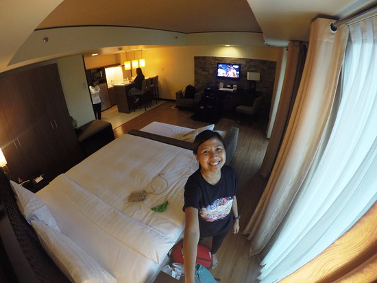 Widus Hotel and Casino: Our Room