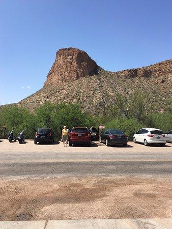 Tortilla Flat, Arizona: Great views!