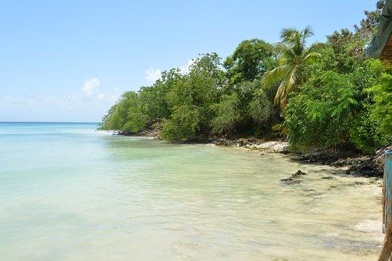Saint Louis, Guadeloupe: Vue du ponton