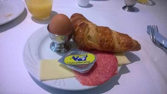 Canalview Hotel Ter Reien : Frühstück