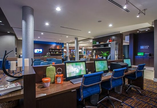 Columbus, Миссисипи: Business Center & Quick Print Station