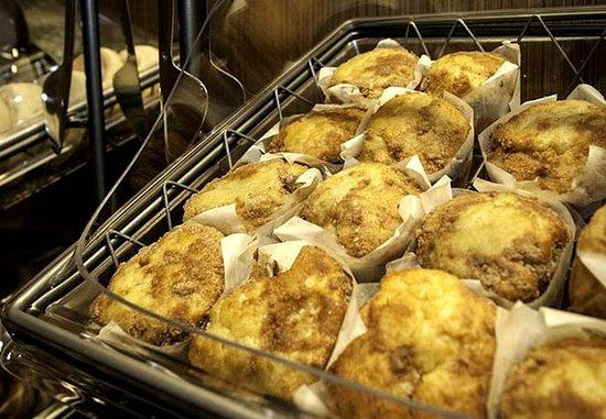 เมริเดียน, มิซซิสซิปปี้: Breakfast Amenity - Muffins