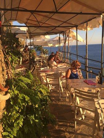 Terrazza ristorante La Torre - Picture of La Torre, Vernazza ...