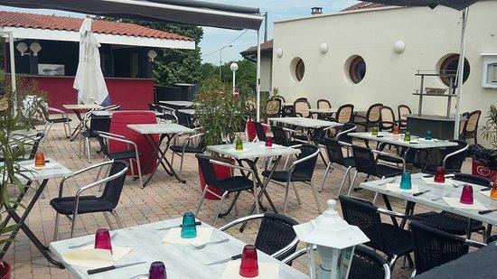 Viriat, Fransa: Terrasse
