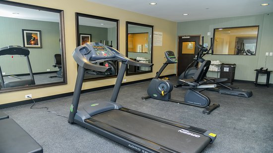 Fitness Center at Holiday Inn Express & Suites Cuero TX