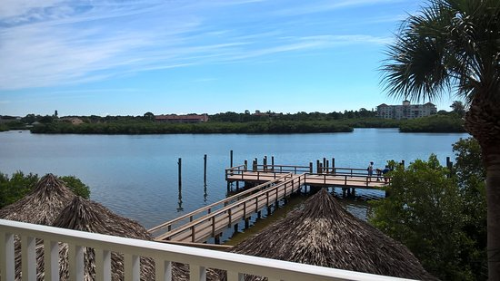 Legacy Vacation Resorts-Indian Shores: View from Master Bedroom