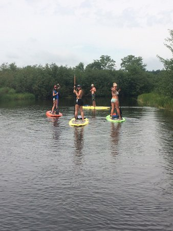 Eagle River, WI: SUP Trip August 2016
