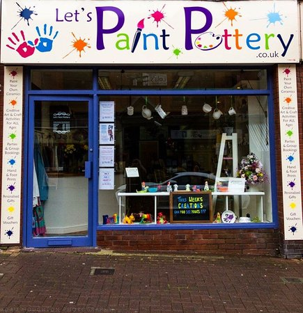 Let's Paint Pottery & Ice Cream Bar