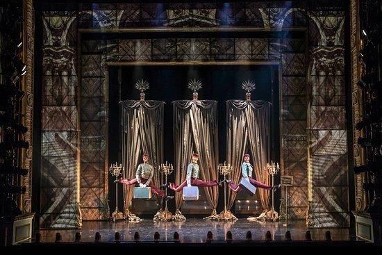 """Asolo Repertory Theatre: Jelani Alladin, Dillon Cassidy, and Julian Ramos in Asolo Rep's production of """"Josephine"""". Photo"""