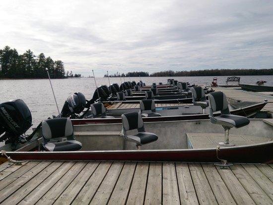 Callander, Canadá: Fleet of Boats