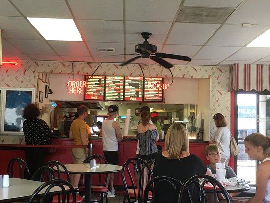 order at the counter picture of gino s hamburgers greenville rh tripadvisor com