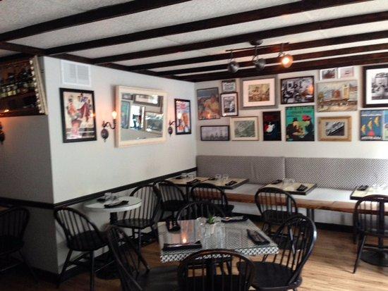 La Parisienne Creperie: Interior Of Restaurant
