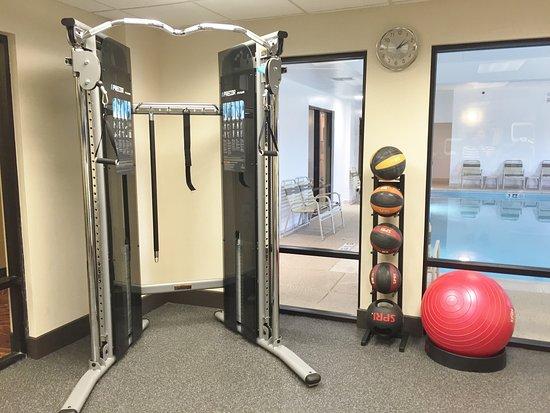Hampton Inn Frostburg: Fitness Center