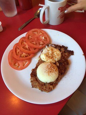 Cheryl's Diner: Poached eggs