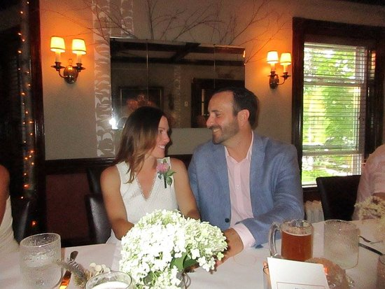 Montgomery Center, VT: Our rehearsal dinner! It was magic :)